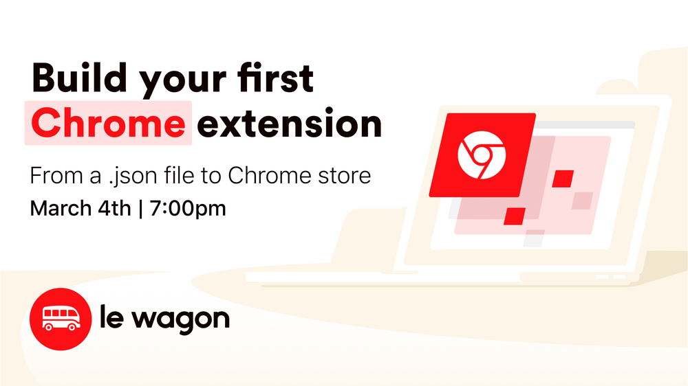 Build your first Chrome extension - Workshop