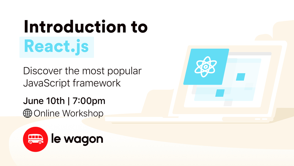 #CodeFromHome: Introduction to React.js - Online Workshop