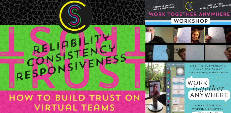 【英語】オンライン 全4回  テレワークでのチーム作りに必要な36のスキル-Work Together Anywhere ワークショップ