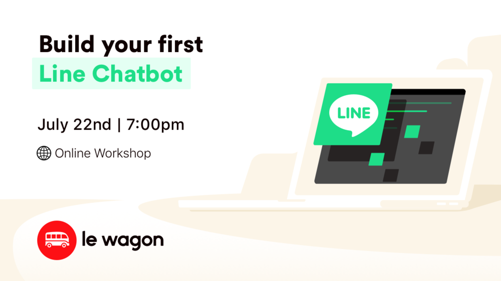 #CodeFromHome: Build your first Line chatbot | Online Workshop