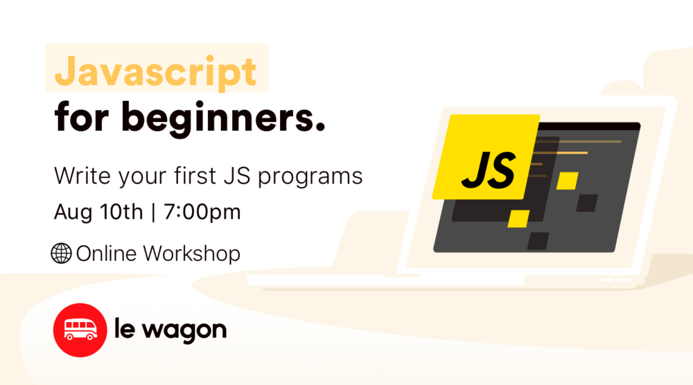Online Workshop | JavaScript for Beginners
