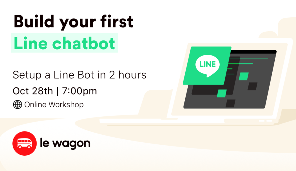Build your first Line chatbot - Online Workshop