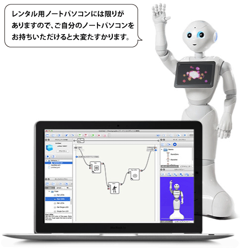 [4/27] Pepper 開発 ワークショップ初級 (2/2)  20:00 - 20:55