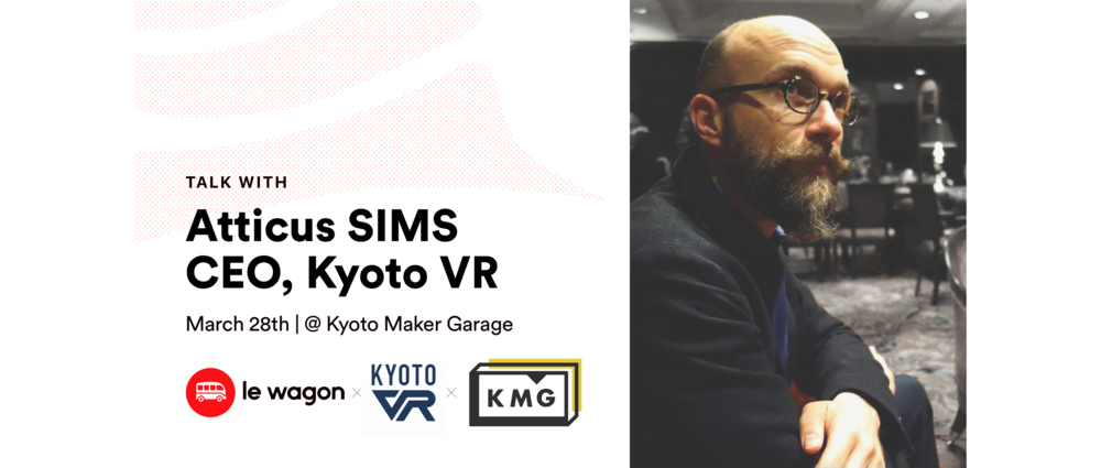 Reviving Japanese traditions through Virtual Reality - with Atticus Sims