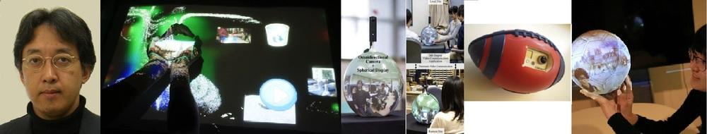 AIITイノベーションデザインフォーラム「Vision-based HCI」小池英樹 先生(東京工業大学)