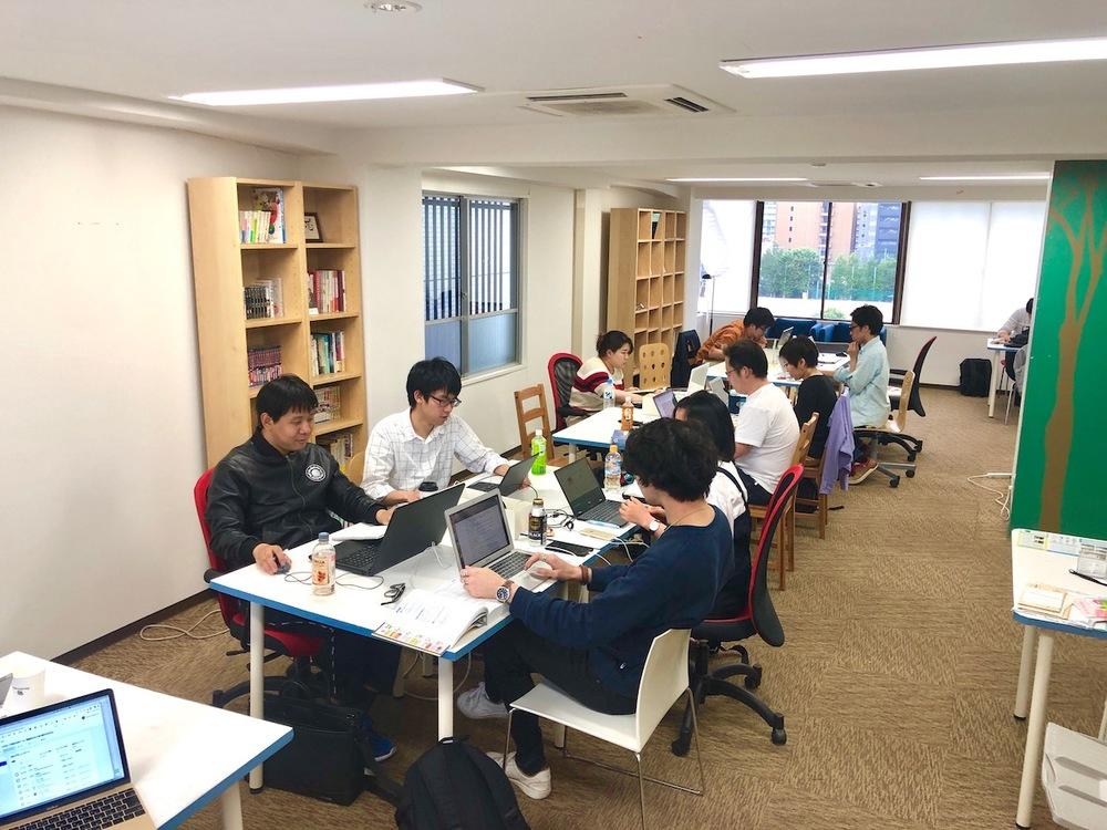 6/8土.大阪IT系初心者もくもく勉強会の日 in 大阪堀江ACTBE Horie