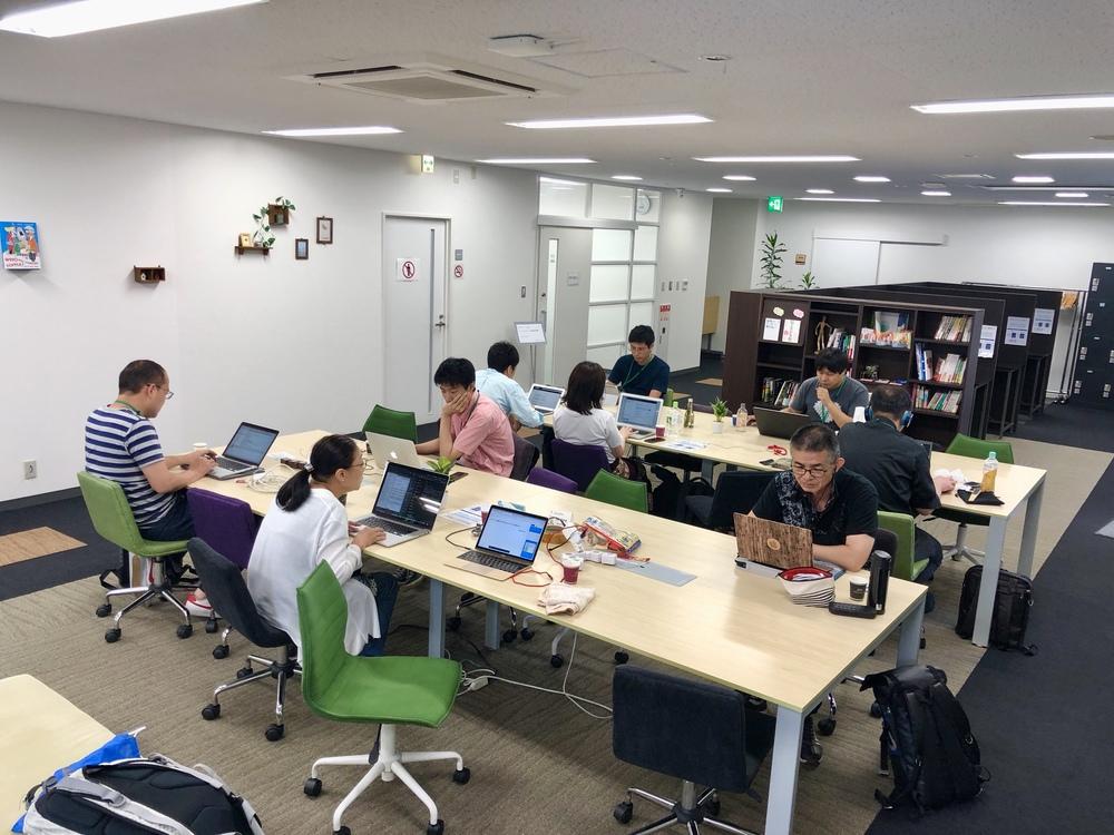 8/3土.大阪IT系初心者もくもく勉強会の日 in 庄内コワーキングNAISHO
