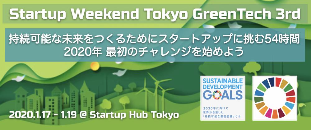 Startup Weekend Tokyo GreenTech 3rd