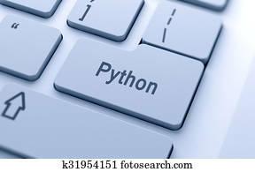 python-単語-ボタン-上に-コンピュータキーボード-クリップアート__k31954151.jpg