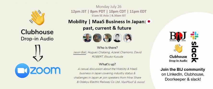 Mobility   MaaS Business In Japan: past, current & future