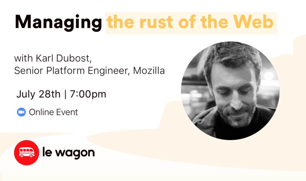 Managing the rust of the Web - Online Talk